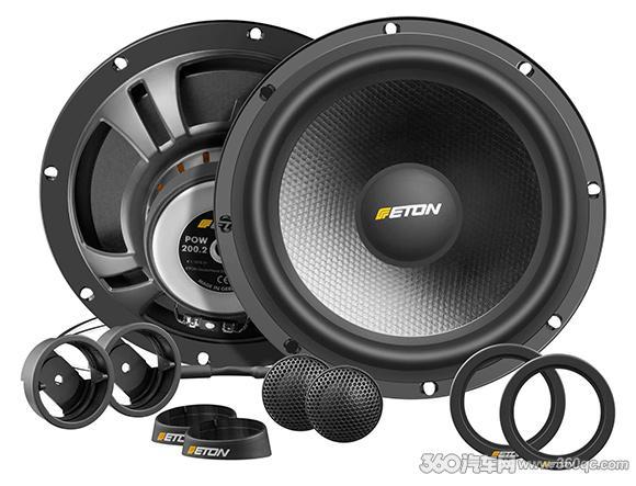 奥迪用的8寸喇叭升级产品来了 德国伊顿POW200.2两