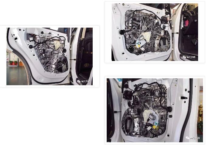 两台PS8,30W重金打造-车改坊武汉店为奥迪Q5音响升级美国Hybrid Audio