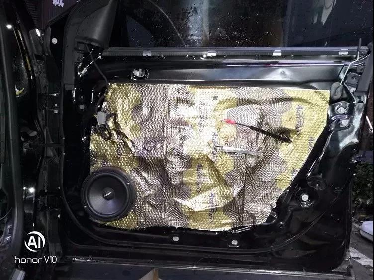 创经典之声-车改坊郑州卡卡汽车音响店君威汽车音响升级ETON两分频