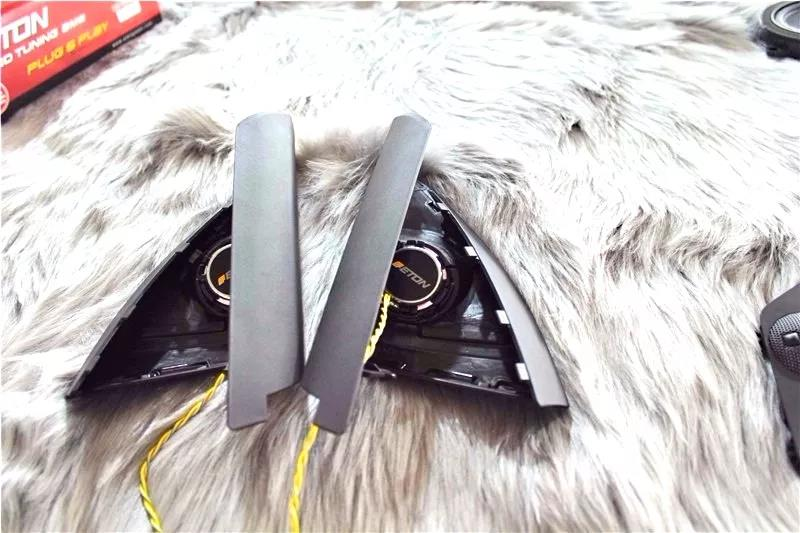 ETON专车专用升级就是爽!宝马X3轻松换装得知音