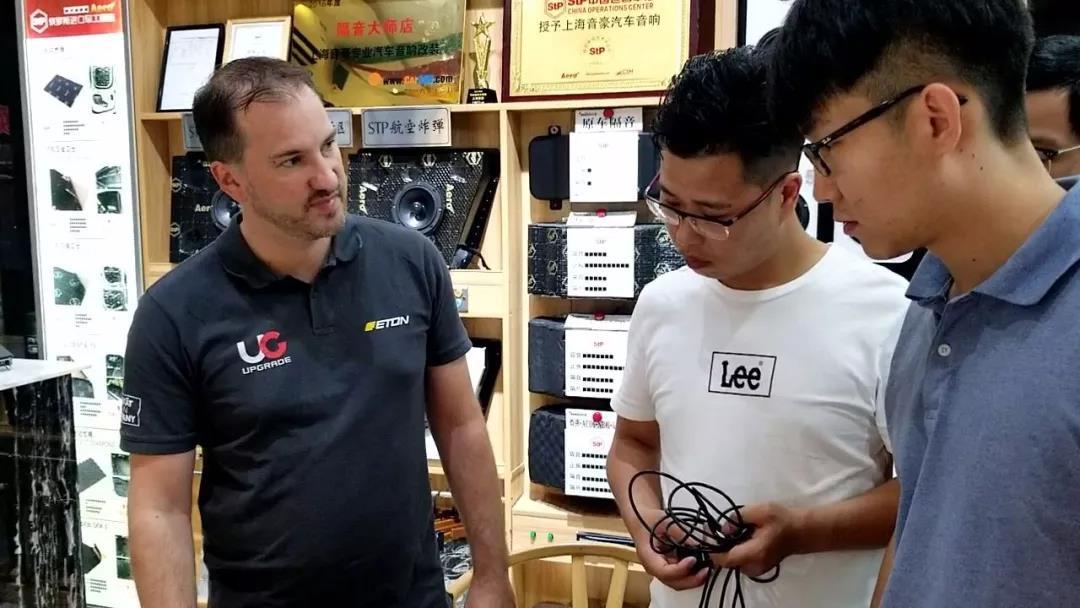 德國ETON技術總監多米尼克中國調音活動第二站上海音豪