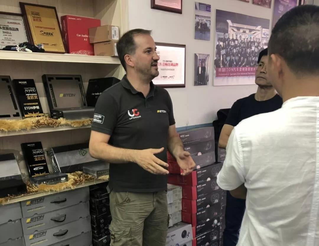<b>德国ETON技术总监多米尼克中国调音活动在车改坊常熟店顺利收官</b>