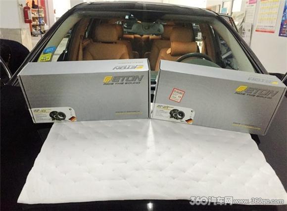 奔驰R500改装德国ETON音响 豪车都爱的两分频音效怎样