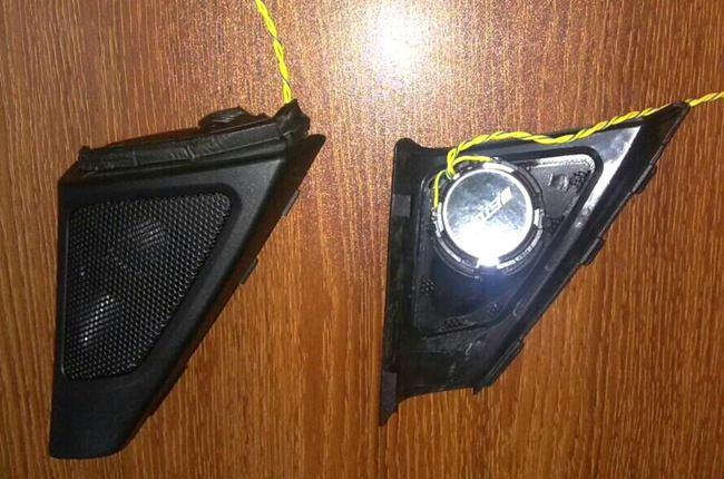 改音响不折腾 义乌车改坊宝马525改装ETON和ARC音响