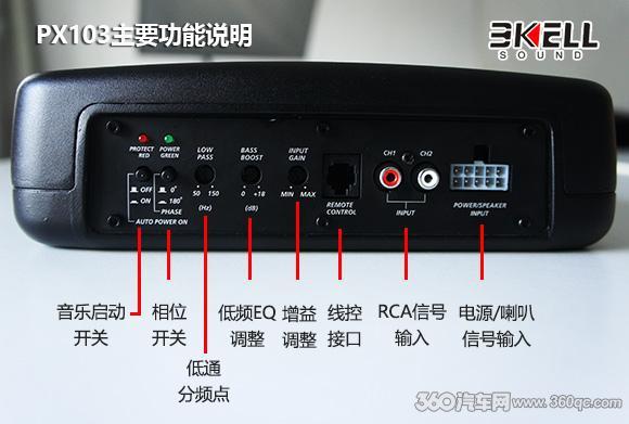 够LOW才好!全网首测美国霸克PX103方形超薄低音炮